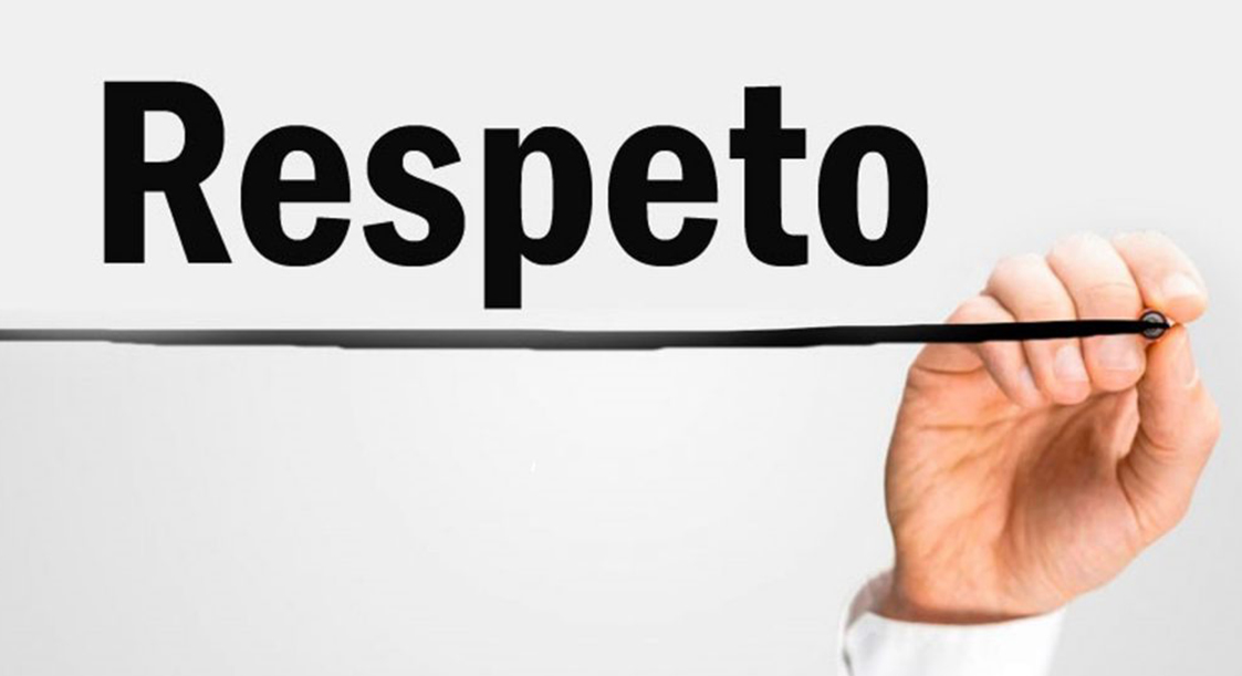 Con todo respeto